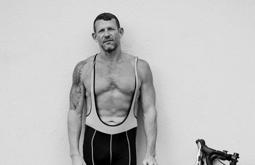 Michael Cox, an AIDS/LifeCycle rider