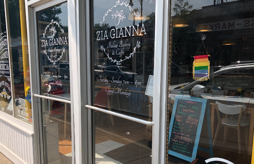 Yelp reviewer one star rainbow flag