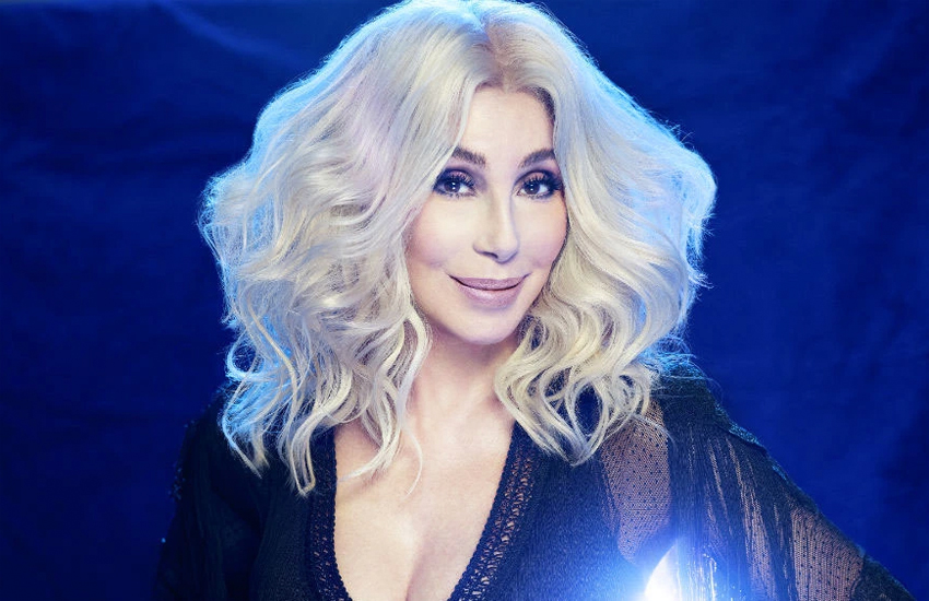 Cher in a press shot for the new album