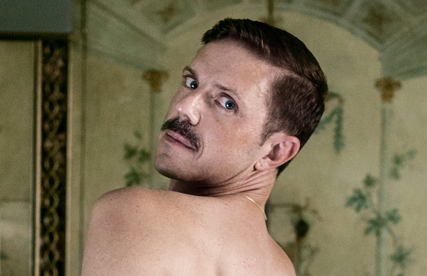 Jake Shears in his Gay Times shoot