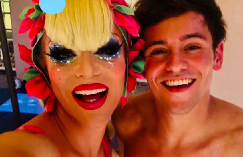 Willam and Tom Daley