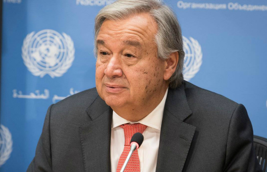 United Nations Secretary General Antonio Guterres (Photo: Facebook)
