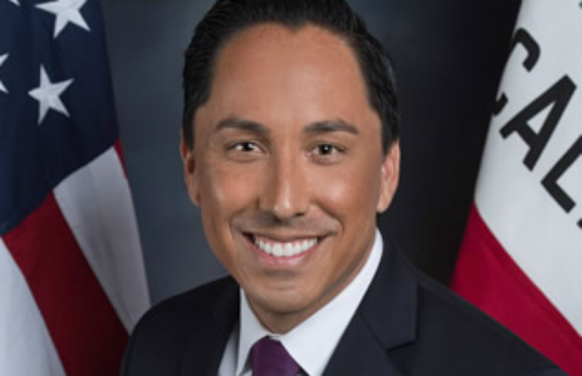 California State Assemblymember Todd Gloria, who introduced the historic bill