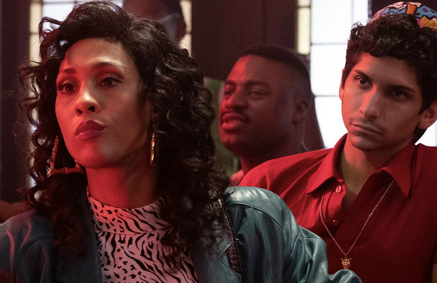 MJ Rodriguez (left) as Blanca Evangelista on FX's hit show Pose
