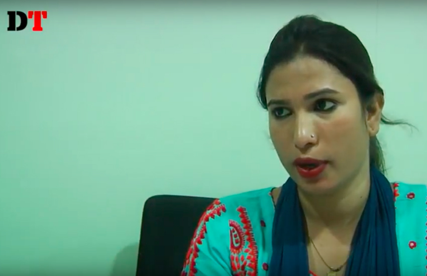 Chaity is the first transgender employee at Bangladesh's Human Rights Commission (Photo: YouTube)