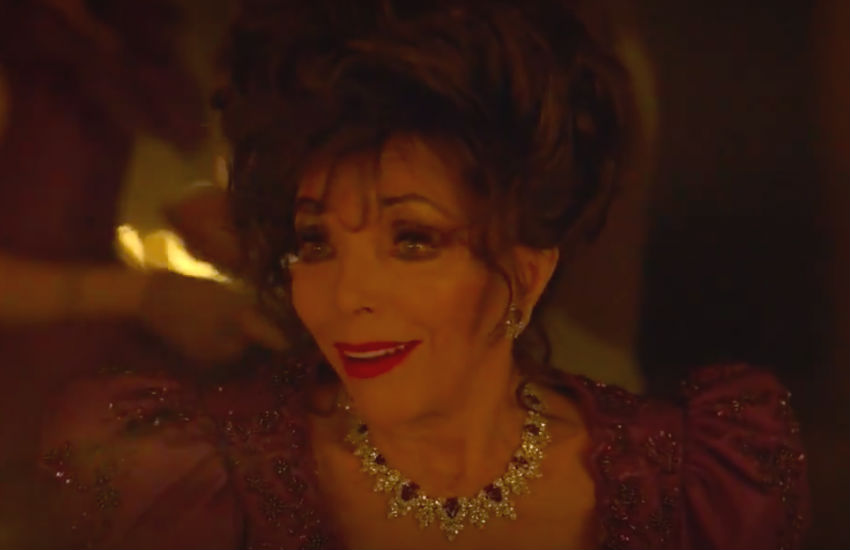 Joan Collins in American Horror Story: Apocalypse