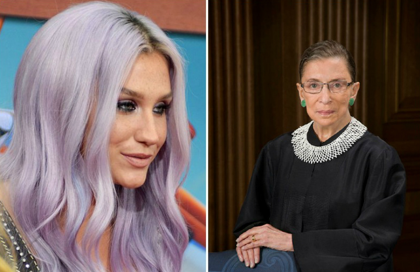 Kesha's newest song is inspired by Supreme Court Justice Ruth Bader Ginsberg (aka the Notorious RBG)