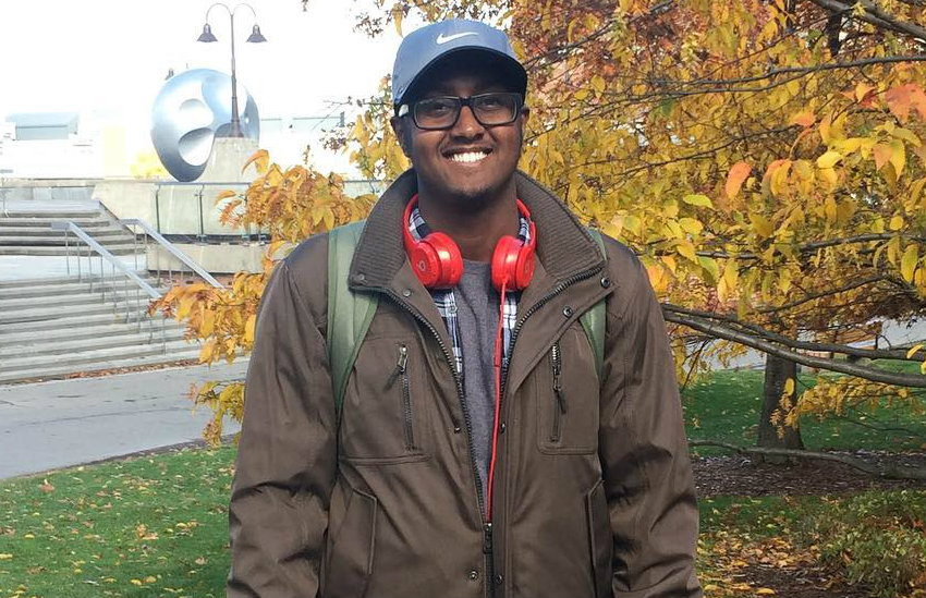 Mahad Olad, a student who escaped conversion therapy in Africa