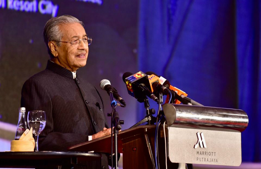 Malaysia's Prime Minister Mahathir Mohamed (Photo: Facebook)
