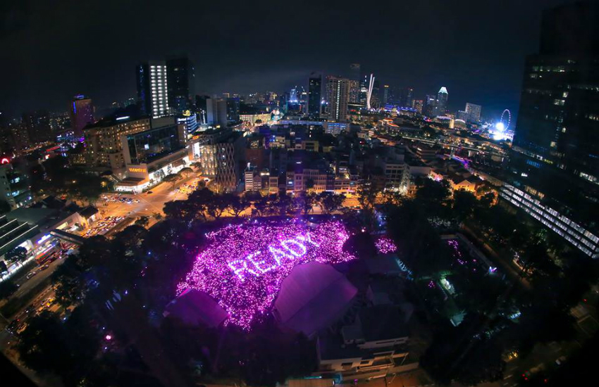 Singapore's LGBTI even Pink Dot says Singapore is ready to repeal anti-gay legislation Section 377A (Photo: Facebook)