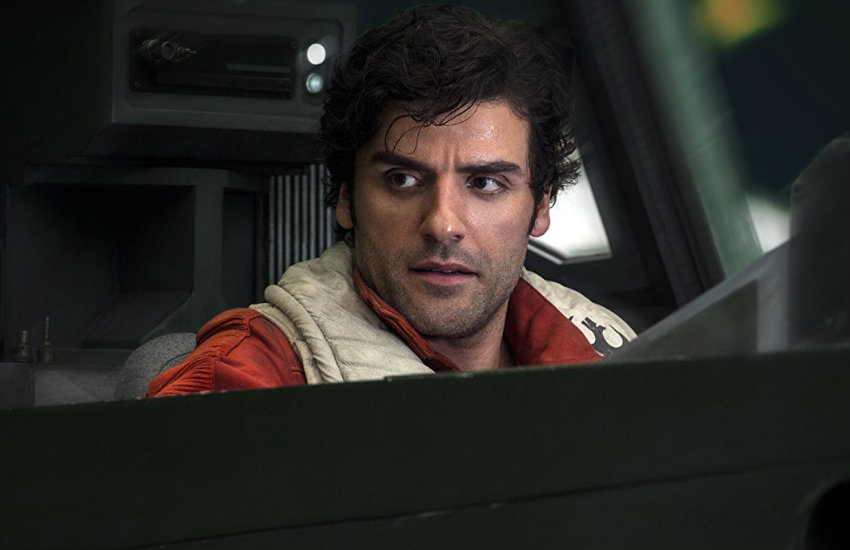 Oscar Isaac as Poe Dameron