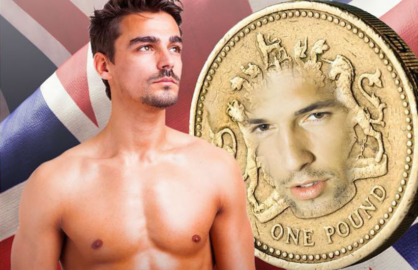 Cover art for Chuck Tingle's Pounded by the Pound: Turned Gay by the Socioeconomic Implications of Britain Leaving the European Union