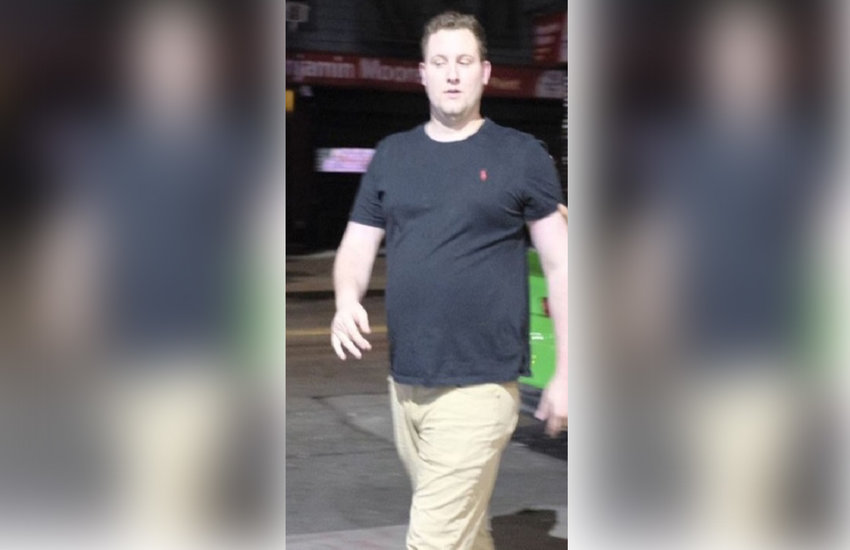 The man later identified as Brandon McNamara caught on surveillance video after knocking two men unconscious.