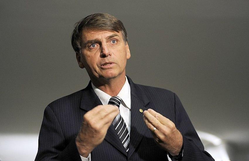 Jair Bolsonaro, an extremely right-wing politician, is currently the frontrunner for Brazil's presidency