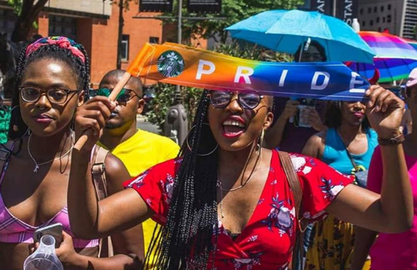 Pride in Johannesburg, South Africa