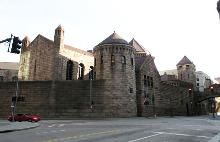 Allegheny County Jail in Pittsburgh, PA