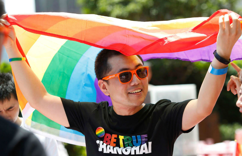 Fan ChunLin challenged China censors ban of gay content (Photo: Provided)
