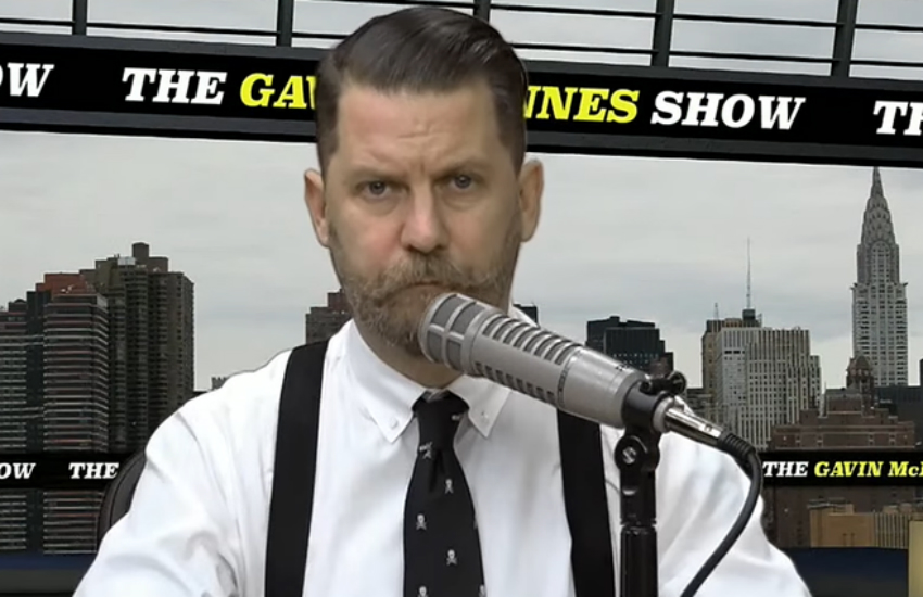 Proud Boys founder Gavin McInnes in 2015