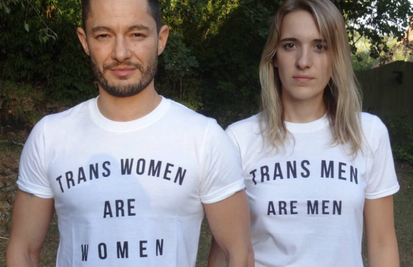 Husband and wife Jake and Hannah Graf are both trans