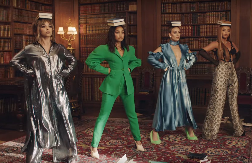 Little Mix in their new video