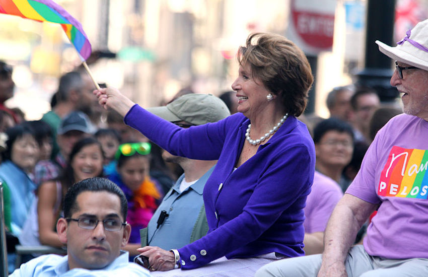 Representative Nancy Pelosi supports The Equality Act