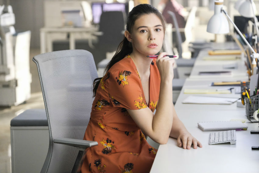Nicole Maines starring in Supergirl | The CW