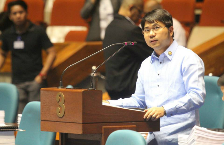 Philippines' lawmaker Ron Salo said the bill is a 'done deal' (Photo: Facebook)