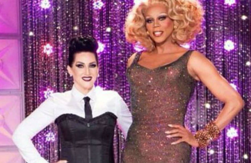 Michelle Visage dressed as Madonna for the Drag Race runway   World of Wonder