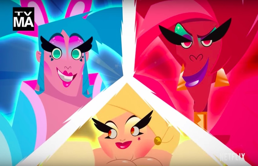In Netflix's upcoming animated series Super Drags, popular RPDR queens voice the drag superheroes