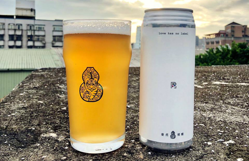 Taihu Brewing launches beer to support marriage equality (Photo: Facebook)
