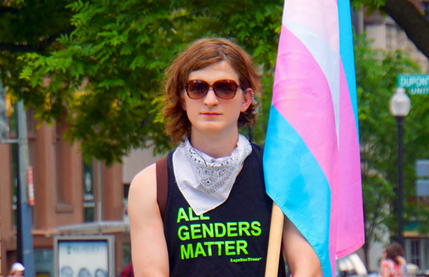 Trans Solidarity Rally and March, Washington 2015