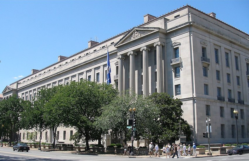 The United States Department of Justice Headquarters