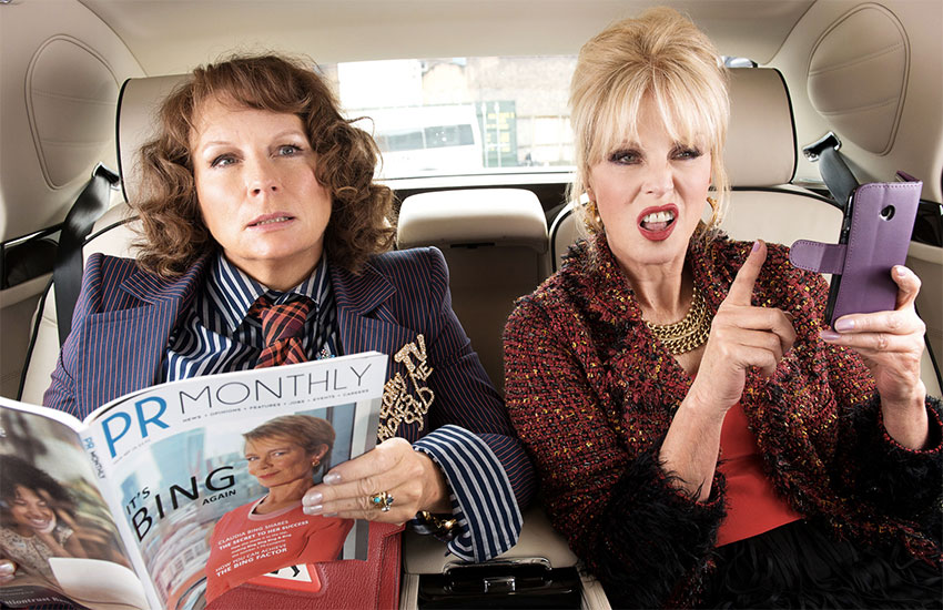 Jennifer Saunders as Edina Monsoon and Joanna Lumley as Patsy in Absolutely Fabulous: The Movie | Photo: Fox Searchlight Pictures