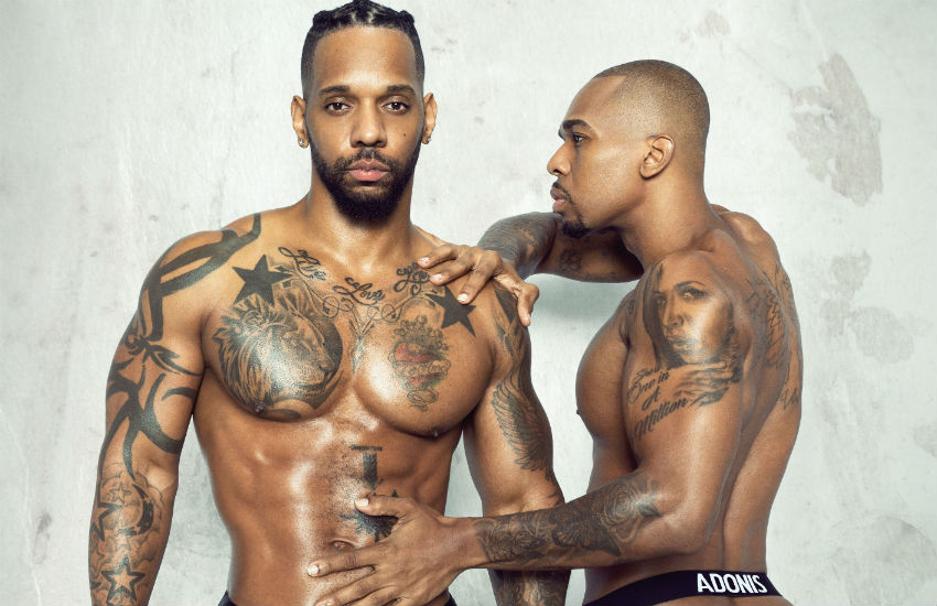 Tyrone Wells and partner Johnnell Terrell