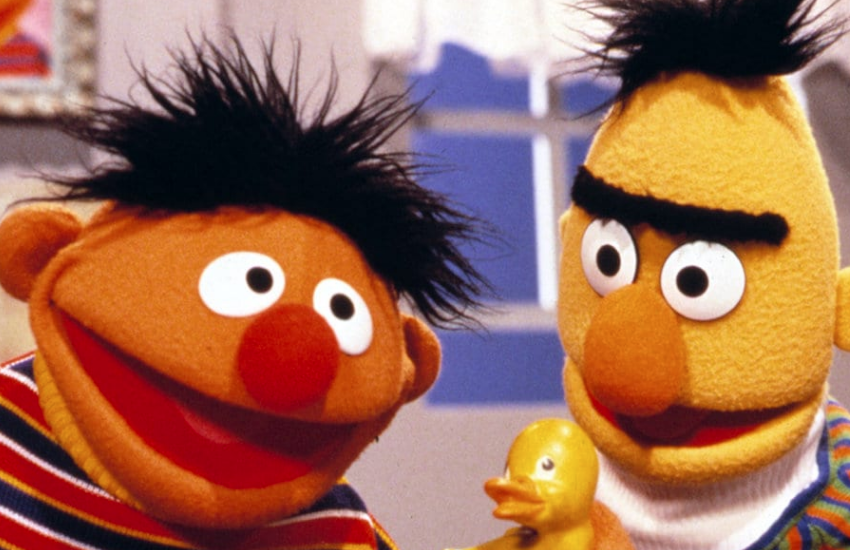 Bert and Ernie have come symbolic if the gay marriage cake row