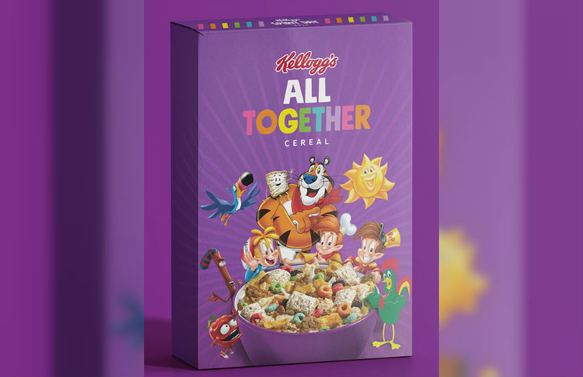 The limited-edition Kellogg's All Together cereal