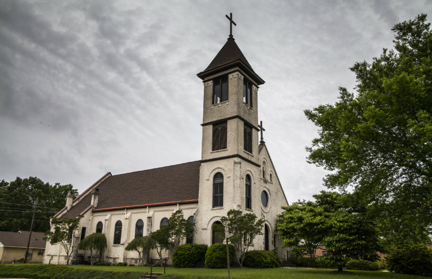 Church in Alabama in the US South