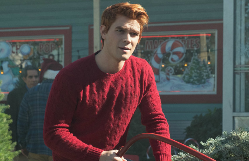 KJ Apa as Archie in Riverdale