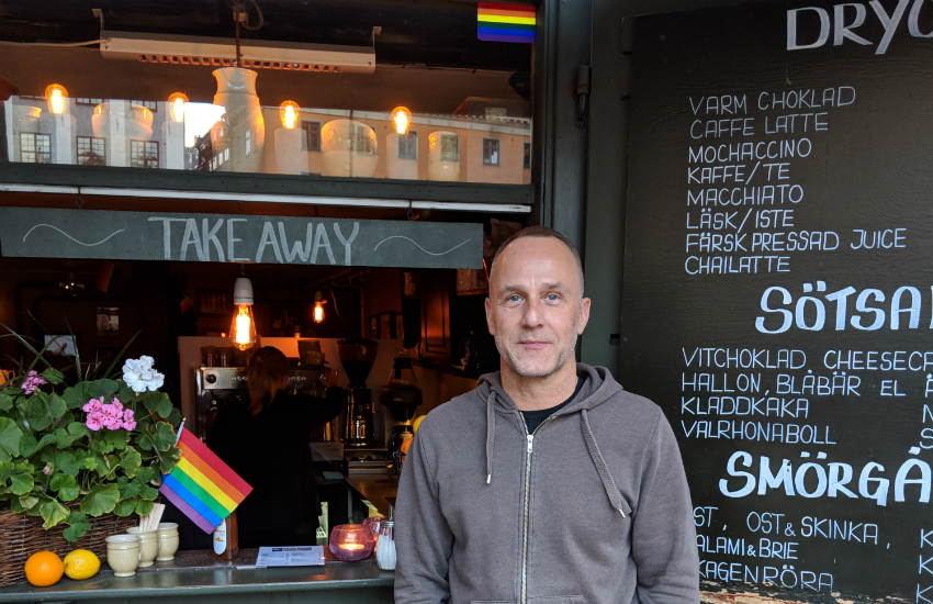 Chokladkoppen lgbt cafe stockholm local