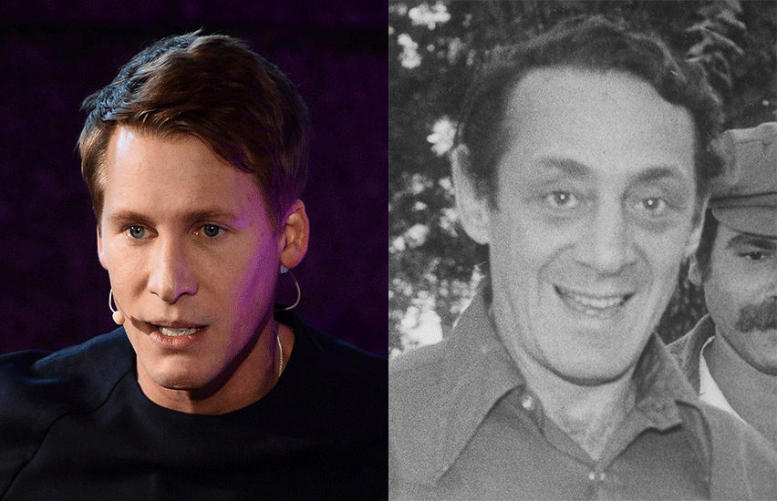 Dustin Lance Black and Harvey Milk | Photos: Wiki