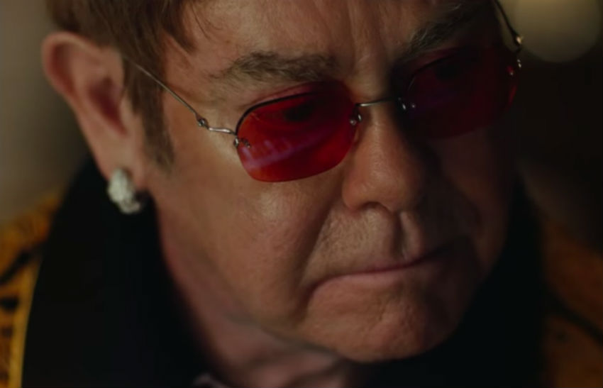 Elton John stars in John Lewis Christmas advert