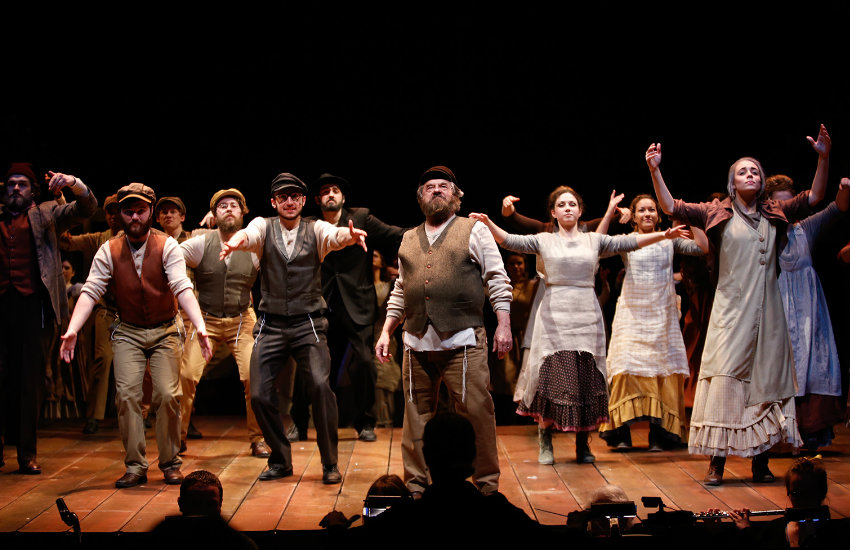 A production of Fiddler on the Roof at Otterbein University