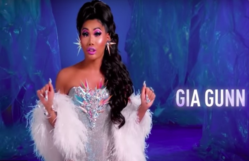 Gia Gunn in the All Stars 4 promo video