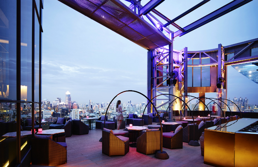 SO Sofitel Bangkok's stunning rooftop bar (Photo: Provided)