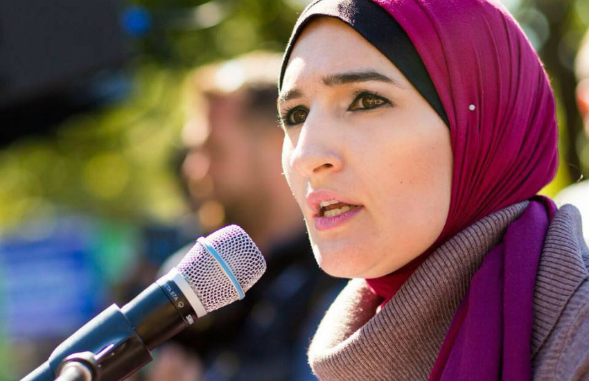 Linda Sarsour, an organizer of the Women's March