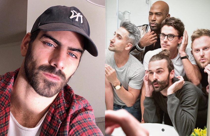 Nyle DiMarco and Queer Eye cast