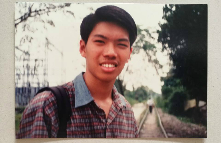Pang Khee Teik spent spent years in Christian conversion therapy as a teenager (Photo: Facebook)