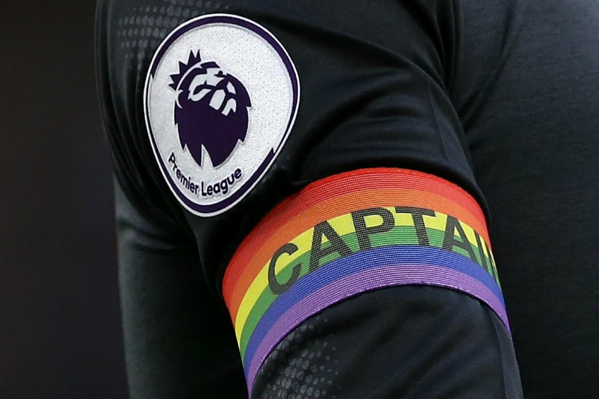 Rainbow armband Premier League