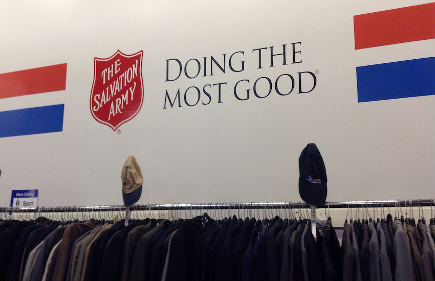 A Salvation Army store