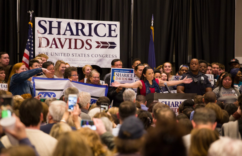Sharice Davids was one of a record-breaking number of LGBTI candidates elected in the U.S. mid-term elections (Photo: Twitter)